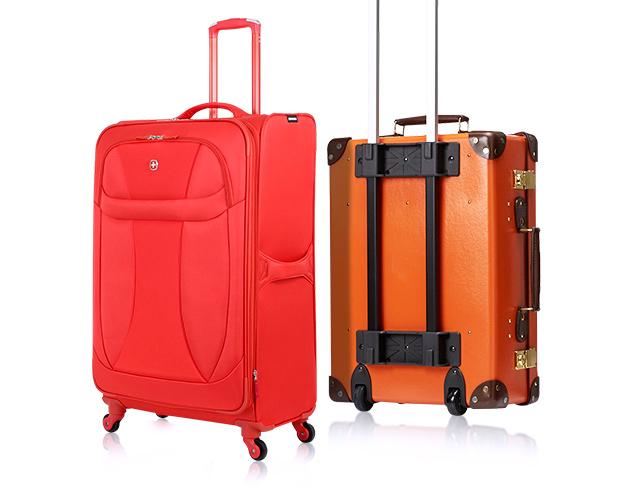 Autumn Hues Red & Orange Luggage at MYHABIT