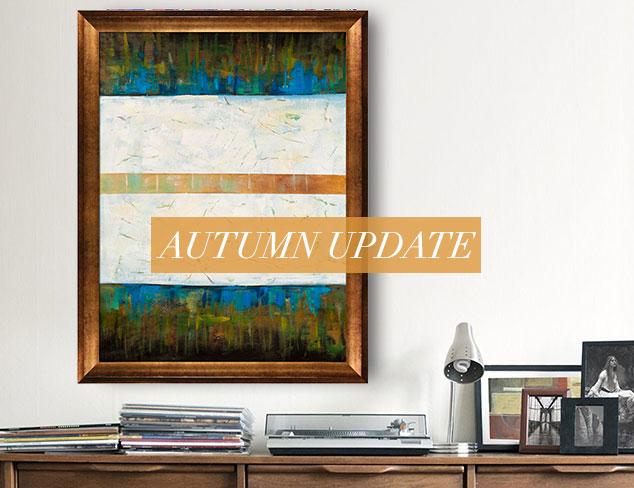 Autumn Update Eye-Catching Artwork at MYHABIT