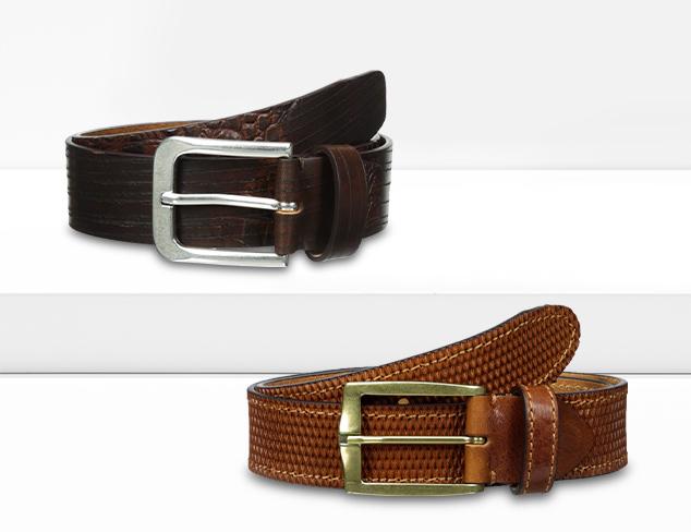 Designer Belts feat. Bolliver at MYHABIT