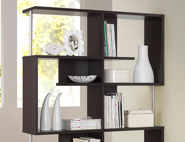 Distinguished Display Bookshelves at MYHABIT