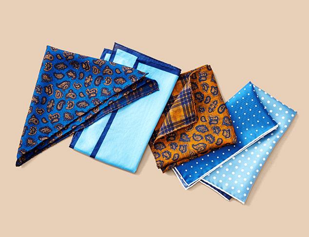 Edward Armah Pocket Squares at MYHABIT