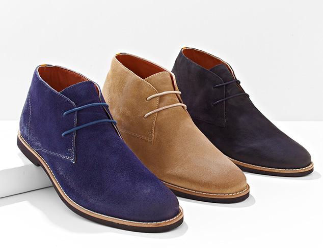 Hello, Fall Desert Boots at MYHABIT