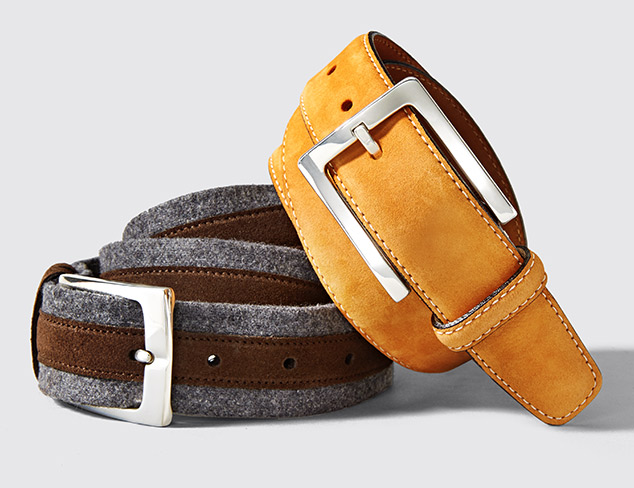Hickey Freeman Belts at MYHABIT