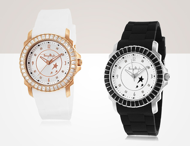 Hint of Sparkle Watches feat. Thierry Mugler at MYHABIT