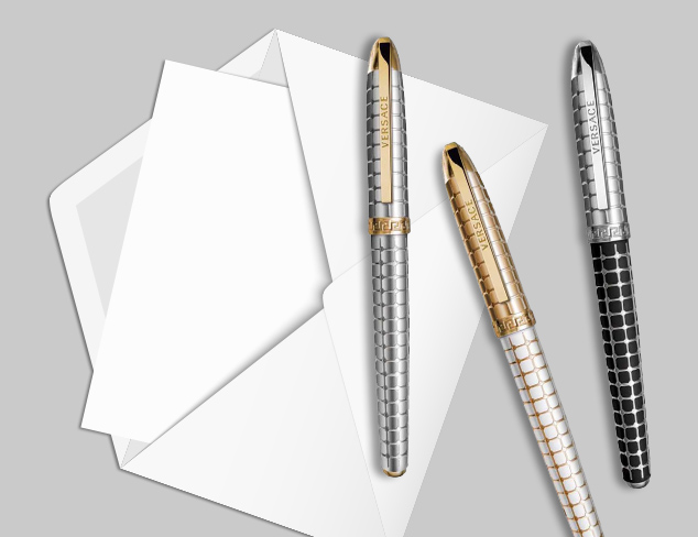 Luxury Writing Instruments from Versace & Gevril at MYHABIT