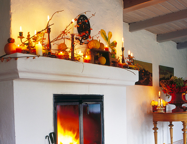 Make Over Your Mantel Autumnal Décor at MYHABIT