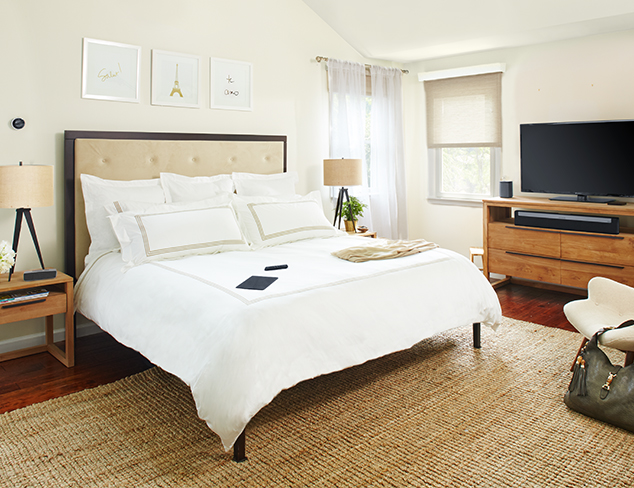 Modern Family, Modern Home The Master Bedroom at MYHABIT