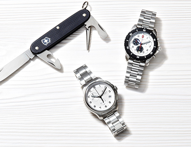 Sporty Watches feat. Swiss Army at MYHABIT