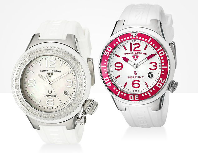Sporty Watches feat. Swiss Legend at MYHABIT