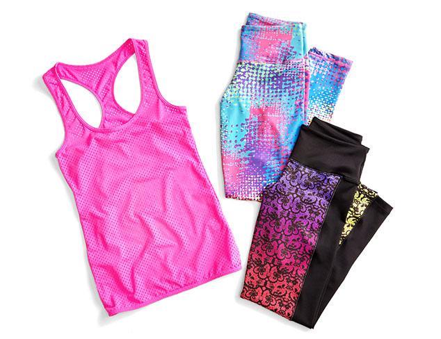 Starting at $20 Vibrant Activewear at MYHABIT