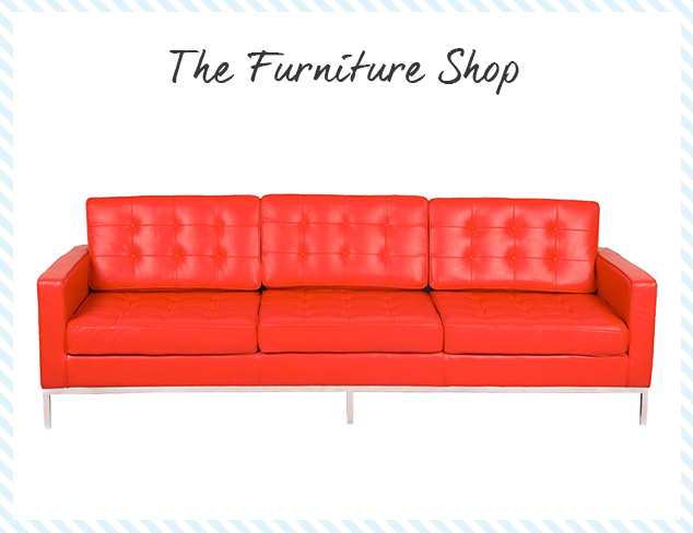 The Furniture Shop Leather at MYHABIT
