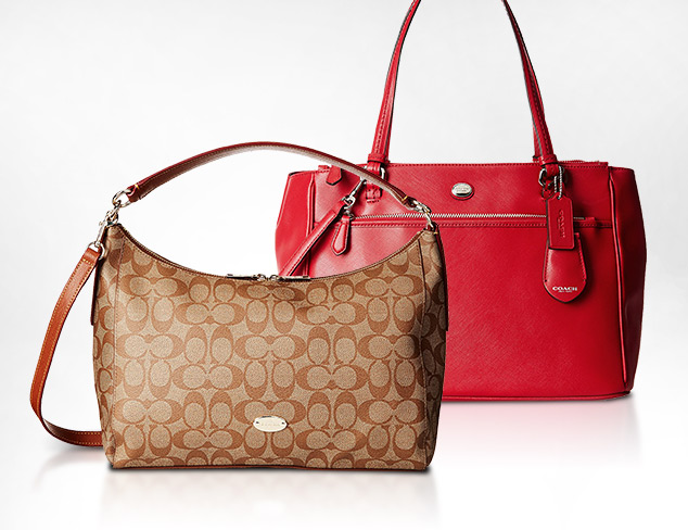 Totes, Satchels & More feat. Coach at MYHABIT