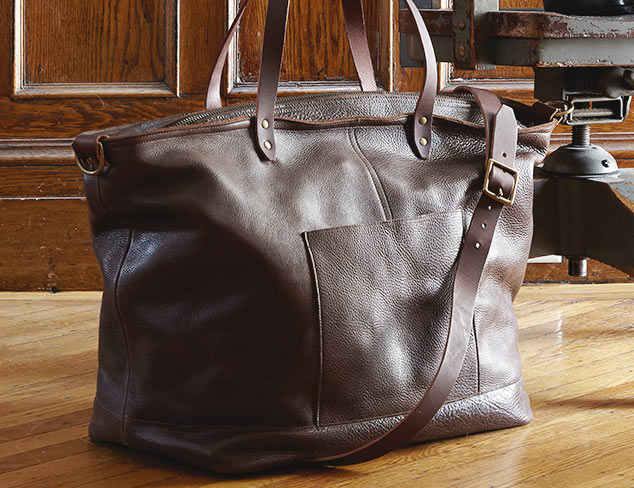 Travel in Luxury Leather Bags feat. TM1985 at MYHABIT