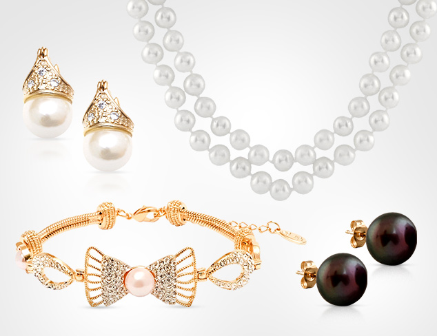 A Modern Classic Pearl Jewelry at MYHABIT