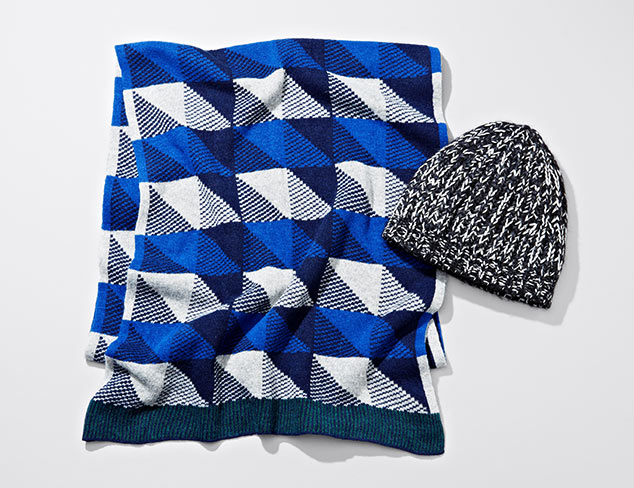 Cold Weather Accessories feat. Marc Jacobs at MYHABIT