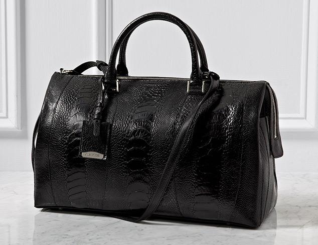 Jil Sander Leather Satchel