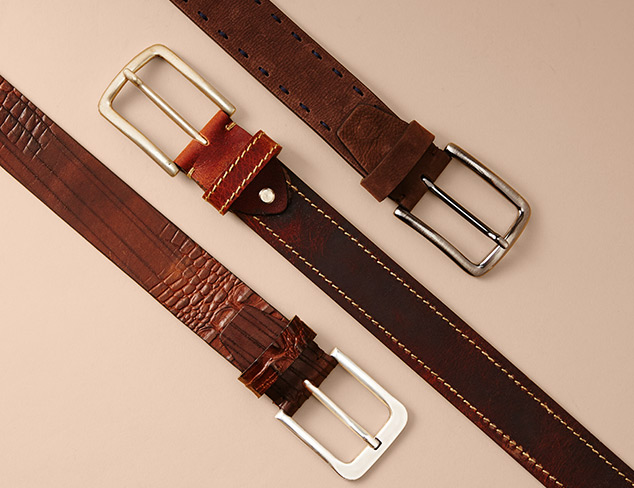 New Markdowns Bolliver Belts at MYHABIT