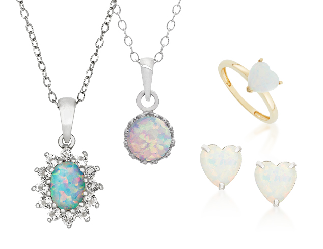 October Birthstone Opal Jewelry at MYHABIT