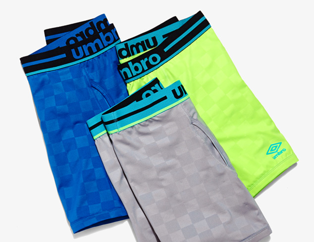Underwear feat. Umbro at MYHABIT