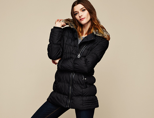 Warm Up Down & Puffer Coats at MYHABIT