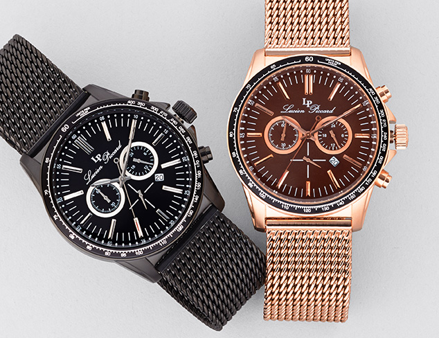 $69 & Up Watches feat. Lucien Piccard at MYHABIT
