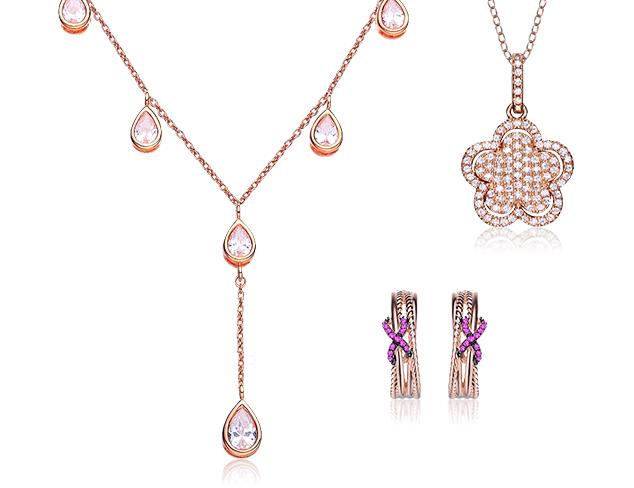 80 Off Megan Walford Rose Tone Jewelry at MYHABIT