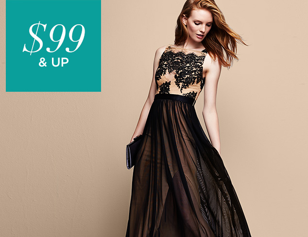 $99 & Up Evening Gowns & Dresses at MYHABIT