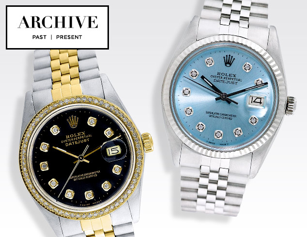 ARCHIVE Rolex Watches for Him at MYHABIT