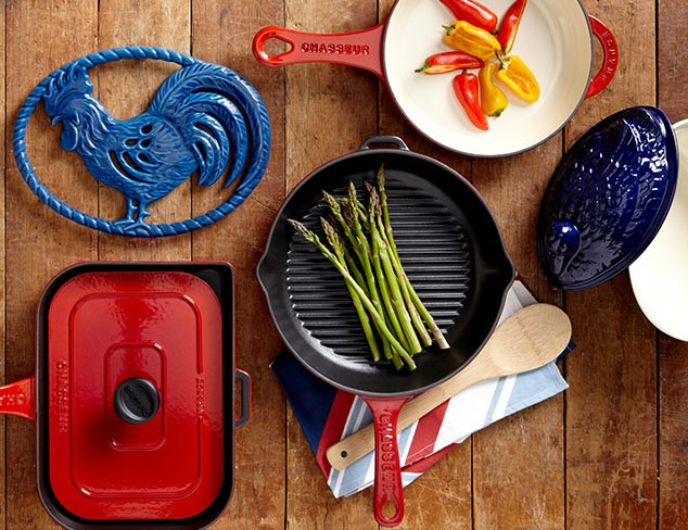 Cast Iron Cookware & More feat. Chasseur at MYHABIT