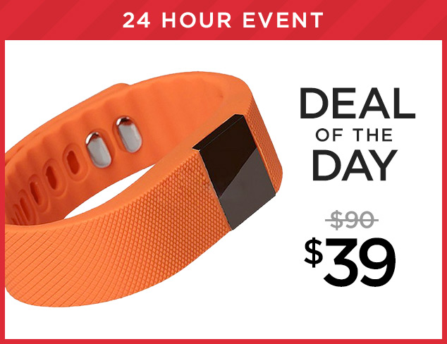 Deal of the Day Bluetooth Fitness Tracker at $39 at MYHABIT