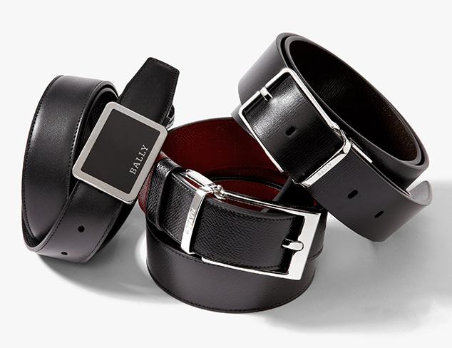 Designer Belts feat. Bally at MYHABIT