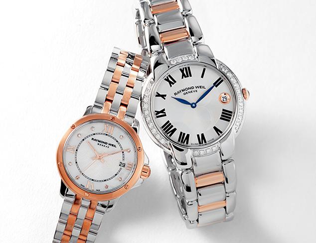Designer Watches feat. Raymond Weil at MYHABIT