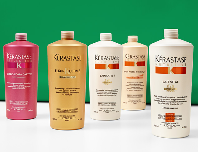 Haircare feat. Kérastase at MYHABIT