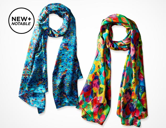 Just $70 Kaleidoscarves Silk Scarves at MYHABIT