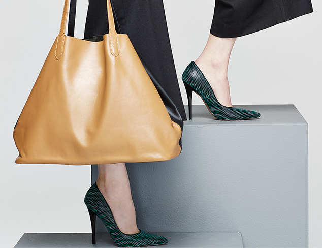 Luxe for Less Contemporary Shoes & Bags at MYHABIT