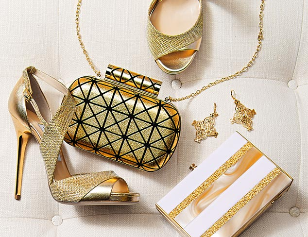 Party Accessories Gleaming Gold at MYHABIT