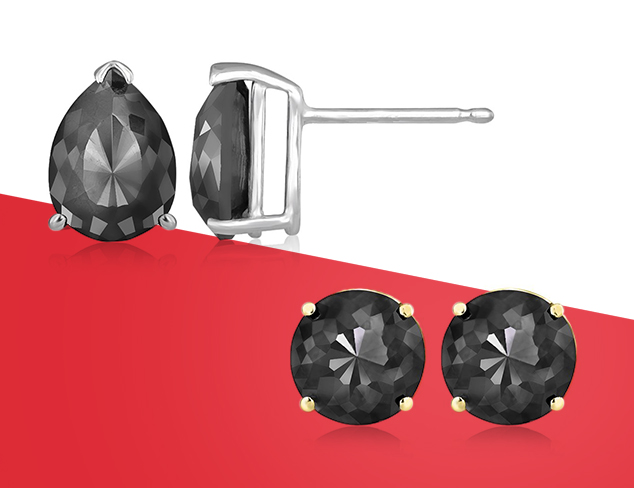 70 Off Black Diamond Earrings at MYHABIT