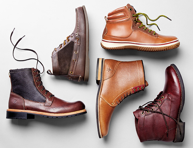 Boot Up Chukkas & More at MYHABIT