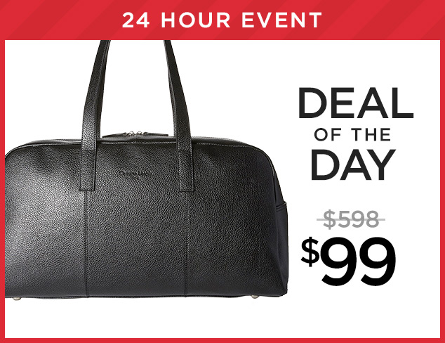 Deal of the Day Christian Lacroix Duffle at $99 at MYHABIT