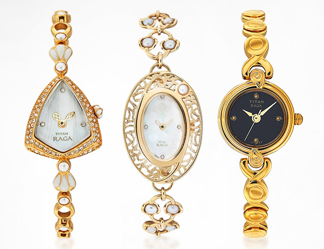 Jewelry-Inspired Watches feat. Titan at MYHABIT