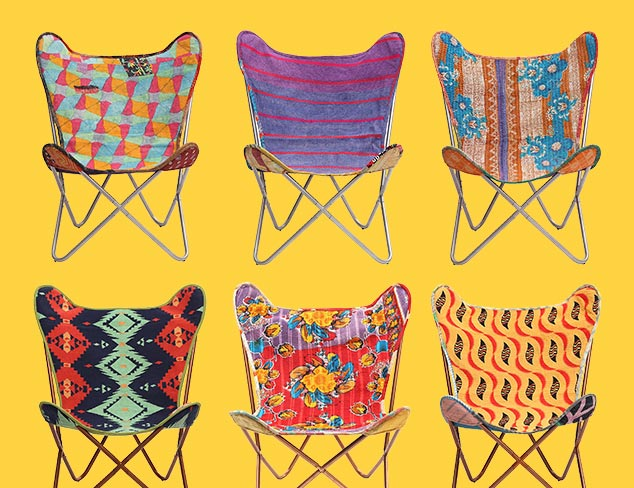 Kantha Chairs & Kilim Furniture at MYHABIT