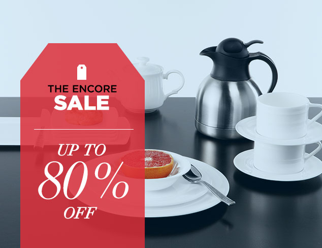 Up to 80 Off Drinkware, Serveware & More at MYHABIT