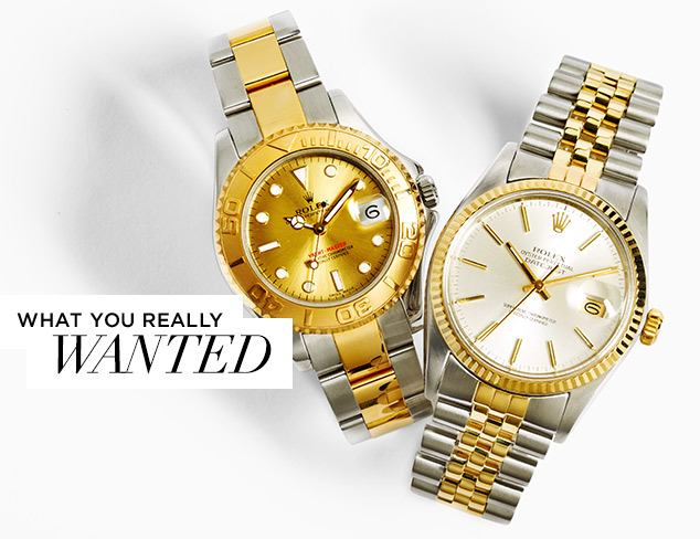 What You Really Wanted ARCHIVE Rolex Watches at MYHABIT