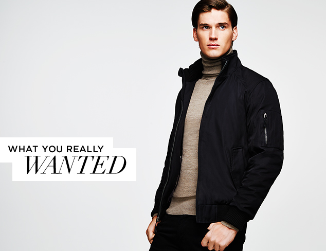 What You Really Wanted Calvin Klein Outerwear at MYHABIT