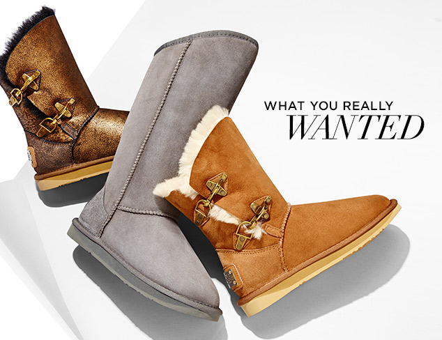 What You Really Wanted Winter Boots at MYHABIT
