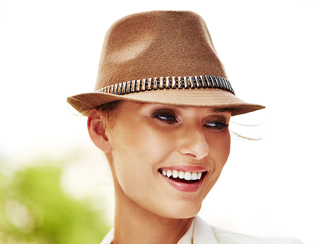Brimming with Style Hats at MYHABIT