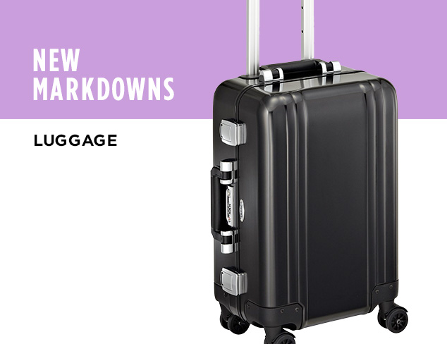 New Markdowns Luggage at MYHABIT