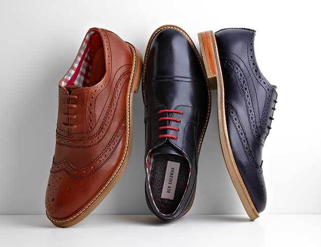 Sharp Style Slip-Ons, Oxfords & More at MYHABIT