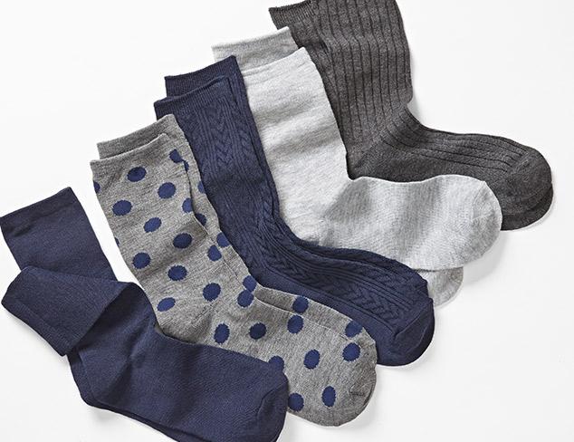 Socks & Tights feat. Adrienne Vittadini at MYHABIT