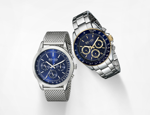 SO&CO Watches at MYHABIT